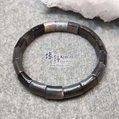 巴西 5A+ 黑太陽石手排 ~10x7mm