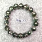 5A+ 巴西聚寶盆綠幽靈手串 11.2mm+/-