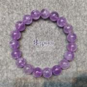 巴西薰衣草紫晶手串 10.5mm+/-