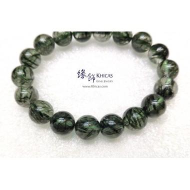 巴西 4A+ 粗髮綠髮晶手串 11.4mm+/-