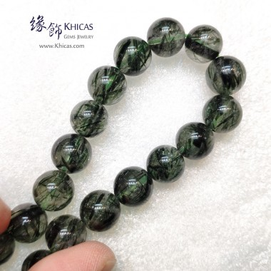 巴西 4A+ 粗髮綠髮晶手串 10.7mm+/-