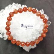 巴西 5A+ 金草莓晶 / 金太陽石手串 7.7mm+/-