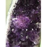 巴西紫晶片擺設