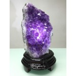 巴西紫晶片擺件