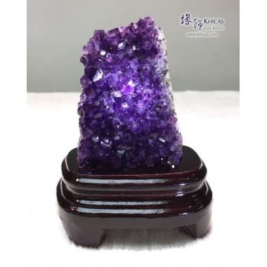烏拉圭 迷你紫水晶花擺設