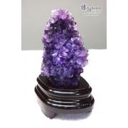 烏拉圭紫水晶花擺設