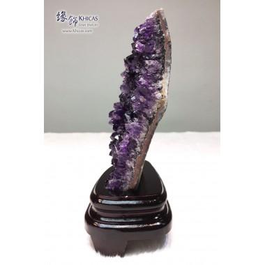 烏拉圭 紫水晶花擺設