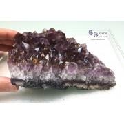巴西 紫水晶簇擺設(淨石無木座)