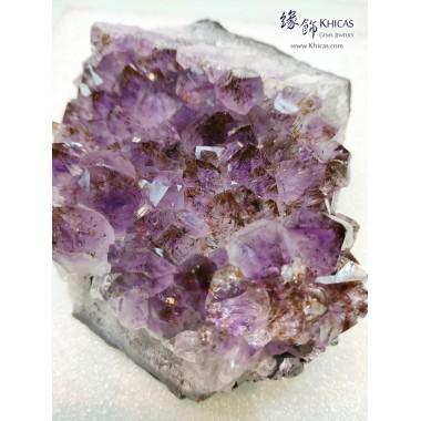 巴西紫水晶簇擺件(淨石無木座)
