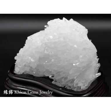 超通透巴西 5A+ 白水晶簇