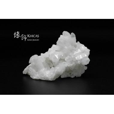 巴西白水晶簇