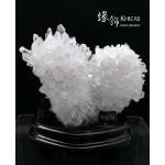 晶瑩剔透 5A+ 巴西白水晶簇