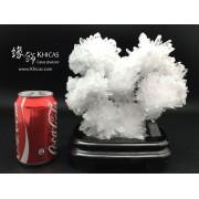 通透壯觀.巴西 5A+ 白水晶簇