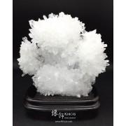 氣勢非凡.巴西 5A+ 白水晶簇