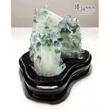 5A+ 巴西綠幽靈晶簇