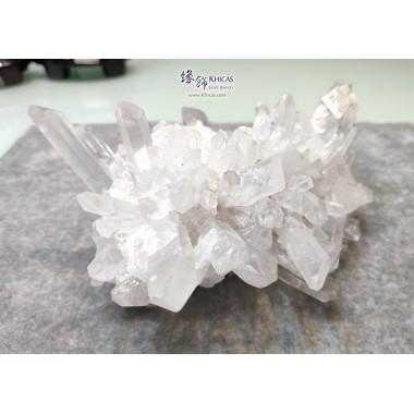 巴西 5A+ 白水晶簇 (淨晶簇, 無座)