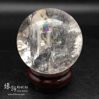 巴西白水晶球 70mm