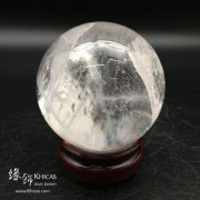 巴西白水晶球 75mm
