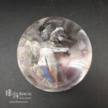 巴西白水晶球 80mm