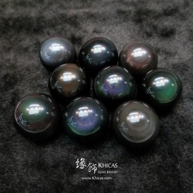 黑曜石水晶球 直徑約 ⌀36mm【每個 $160.-】