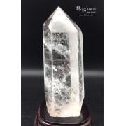 巴西白水晶柱 9x9x20cm