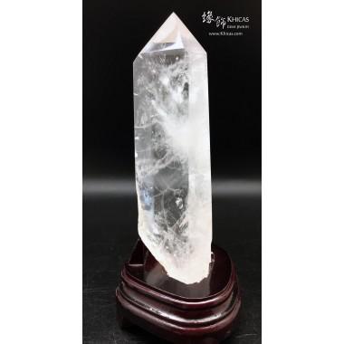 巴西白水晶柱 10x10x24cm