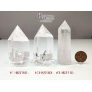 巴西迷你白水晶柱【多款可選—$110起】