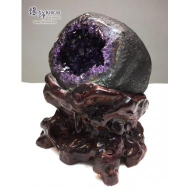 頂級烏拉圭錢袋紫晶洞