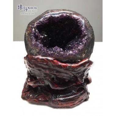 烏拉圭頂級錢袋紫晶洞