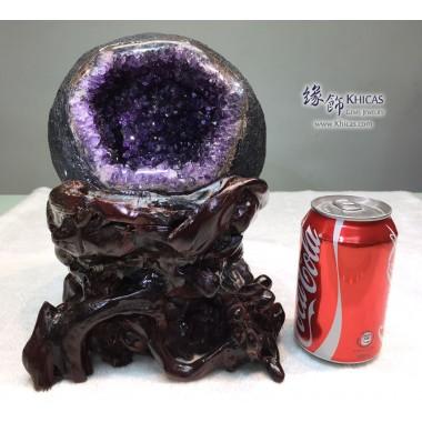 頂級烏拉圭 錢袋紫晶洞