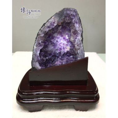 巴西迷你紫晶洞 19x16x21.5cm