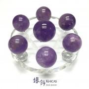 巴西紫水晶球七星陣 直徑117mm