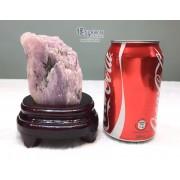 巴西紫鋰輝原石擺件