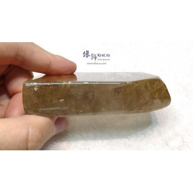 巴西金鈦晶原石擺件 83x55x18.2mm