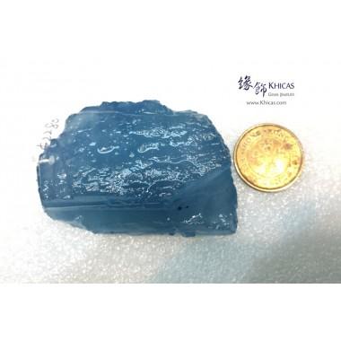 海藍寶原石 / 原礦掛件 75.92g