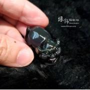 黑曜石 / 金曜石招財豬仔擺件【每個 $50.-】