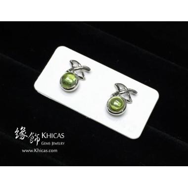橄欖石 天星耳環