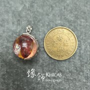 Natural Aura in Quartz 錦鯉水晶銀線吊墜
