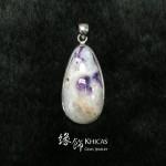 美國紫蛋白石 / 紫澳寶石吊墜