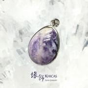 美國紫蛋白石 / 紫澳寶石吊墜 (3)