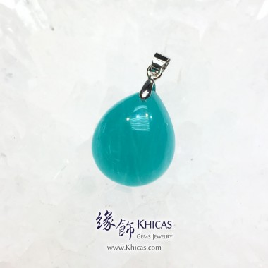 新疆 5A+ 冰種天河石吊墜 19.8x16.7x8.1mm