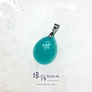 新疆 5A+ 冰種天河石吊墜 18.5x13.2x8.4mm