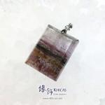 加拿大 5A+ Auralite 23 極光23水晶吊墜 26.3x20.6x7.5mm