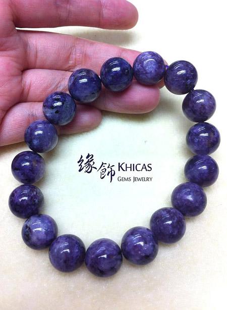紫龍晶手串 13mm Charoite Khicas Gems 緣飾