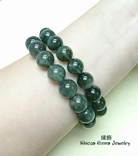巴西綠髮晶 11mm 12mm Khicas Gems 緣飾