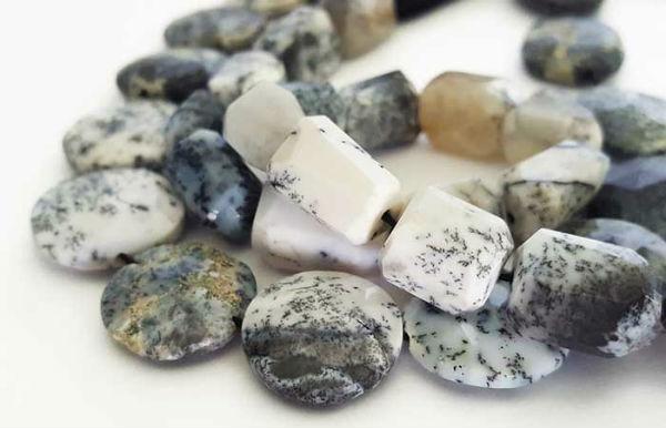 Dendiratic Opal 蛋白石可制成多款形狀之手串 - 緣飾天然水晶 Khicas Gems Jewelry