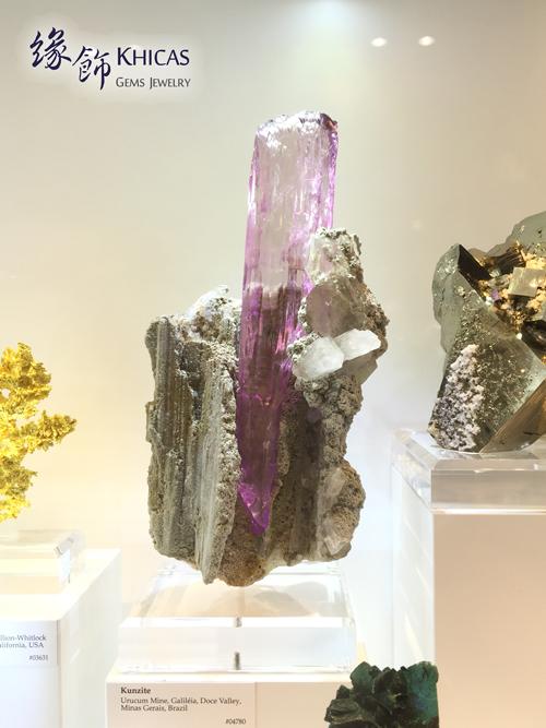 珍藏級紫鋰輝原石 (非賣品) Khicas Gems 緣飾