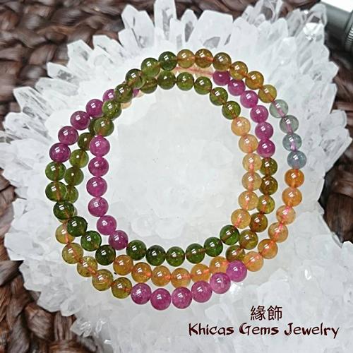 糖果碧璽 Khicas Gems 緣飾天然水晶
