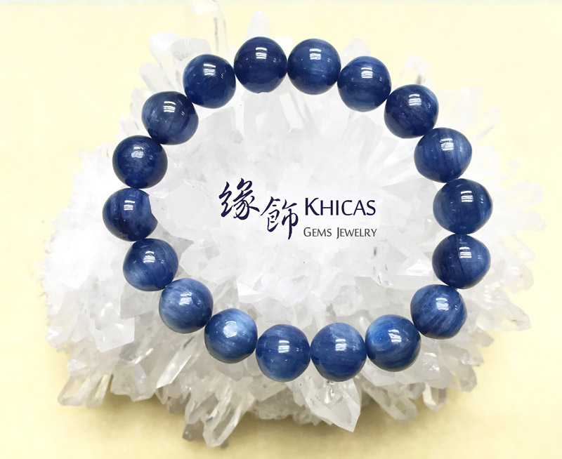 5A+ 美國藍晶石圓珠手串 10mm KH140785 Khicas Gems 緣飾