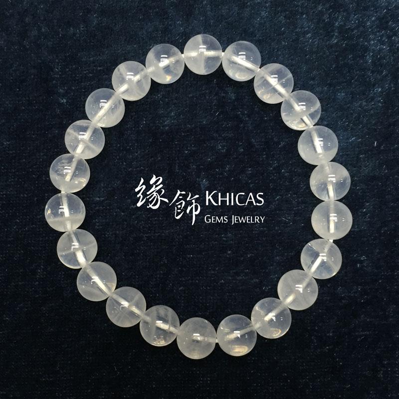 喜瑪拉雅月亮水晶手串 8mm KH140889 Khicas Gems 緣飾